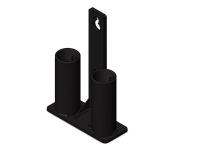 soporte barras estructura funcional, soporte barras racks