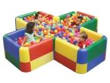 piscina bolas, piscina bola cruz, piscina pelotas
