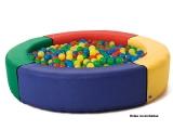 piscina foam, piscina bolas redonda, piscina redonda infantil
