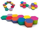 circuito equilibrio bebe, hexagon, circuito bebe, circuito equilibrio