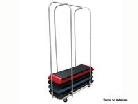 soporte plataformas step, mueble plataformas step fitness