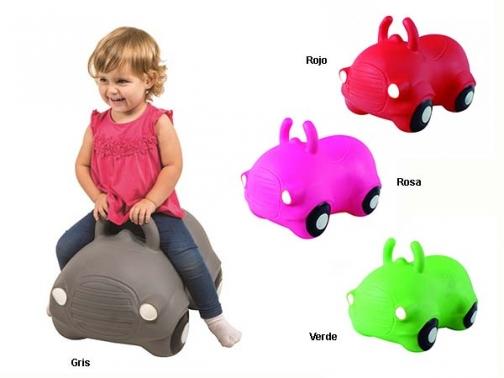 jumping car, coche infantil hinchable, hop, coche kanguro