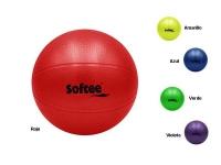 pelota polivalente, pelota rugosa, pelota pvc