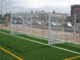 porterias futboll 11 abatibles aluminio, porterias futboll 11 abatibles