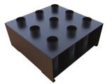 soporte suelo barras olimpicas, soporte barra suelo, bar holder