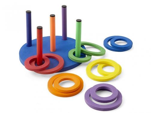 juego anillas de espuma, juego anillas espuma, anillas espuma