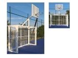 porteria futbol sala, balonmano y canasta basket antivandalica