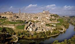 Toledo and wine