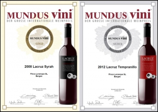 Mundus Vini rewards quality Finca Loranque