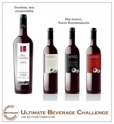 Vinos sobresalientes, en Ultimate Beverage Challenge
