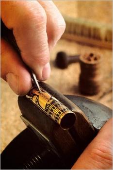 Finca Loranque con la artesanía