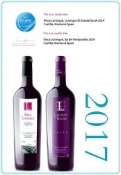 Decanter premia los vinos de Finca Loranque