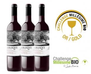 Gold Medal in Millésime Bio Challenge