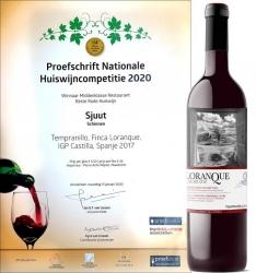Loranque Tempranillo 2017, mejor vino de la casa en Holanda