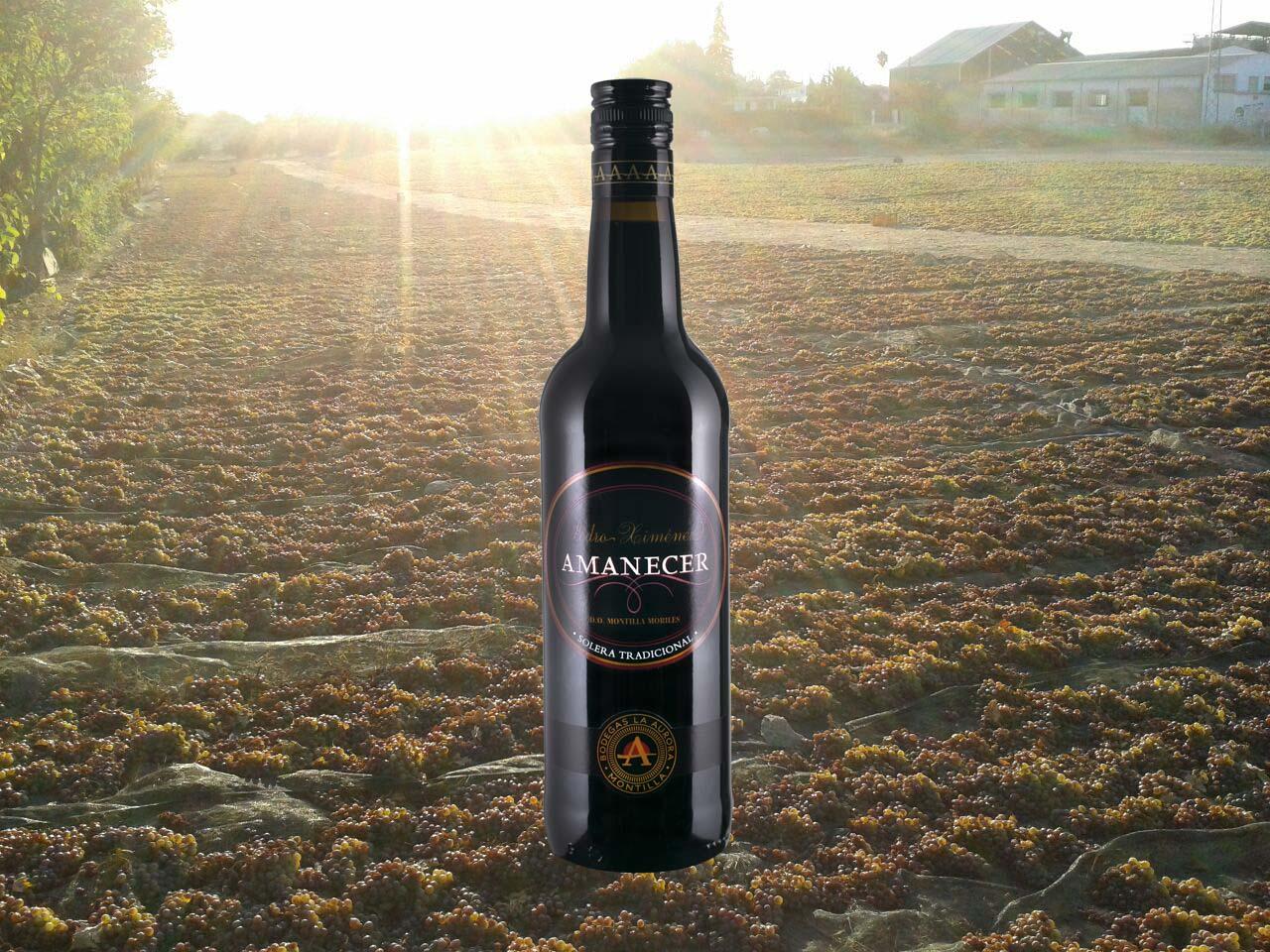El soleado de la uva vino pedro ximenez