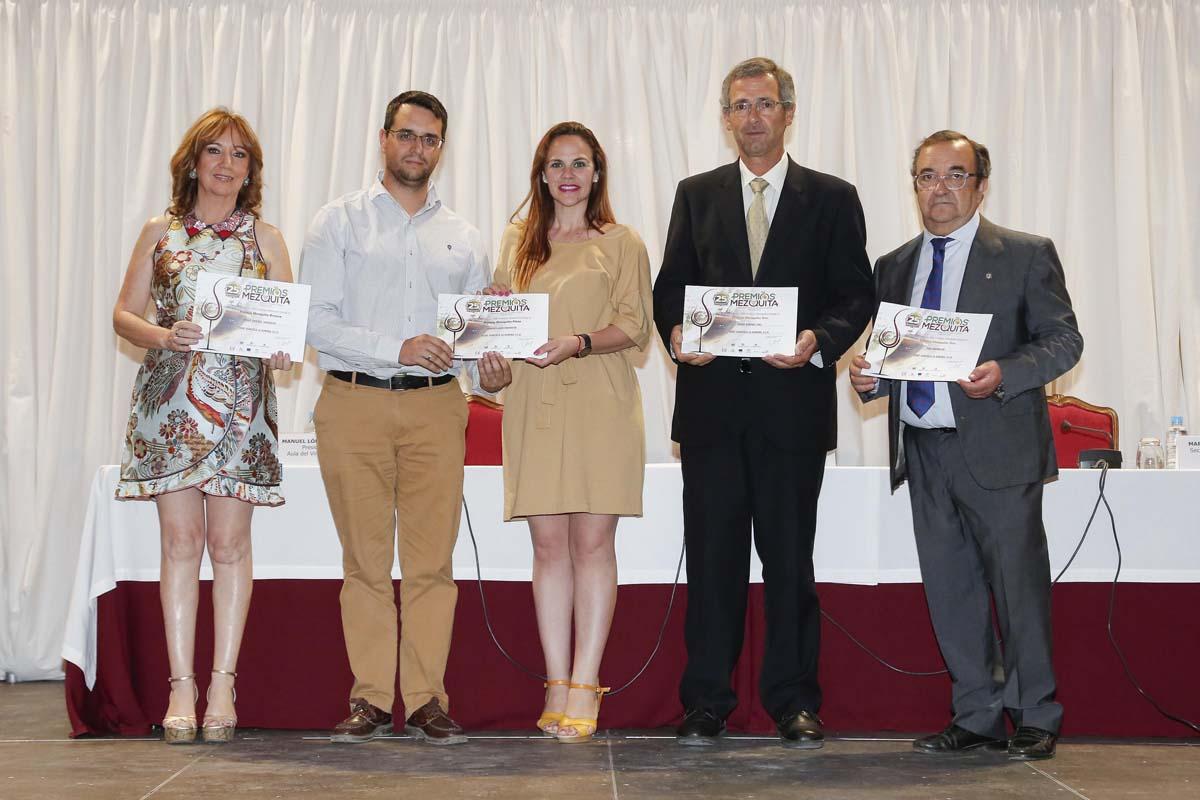 Recogida de los cuatro Premios Mezquita 2019 2