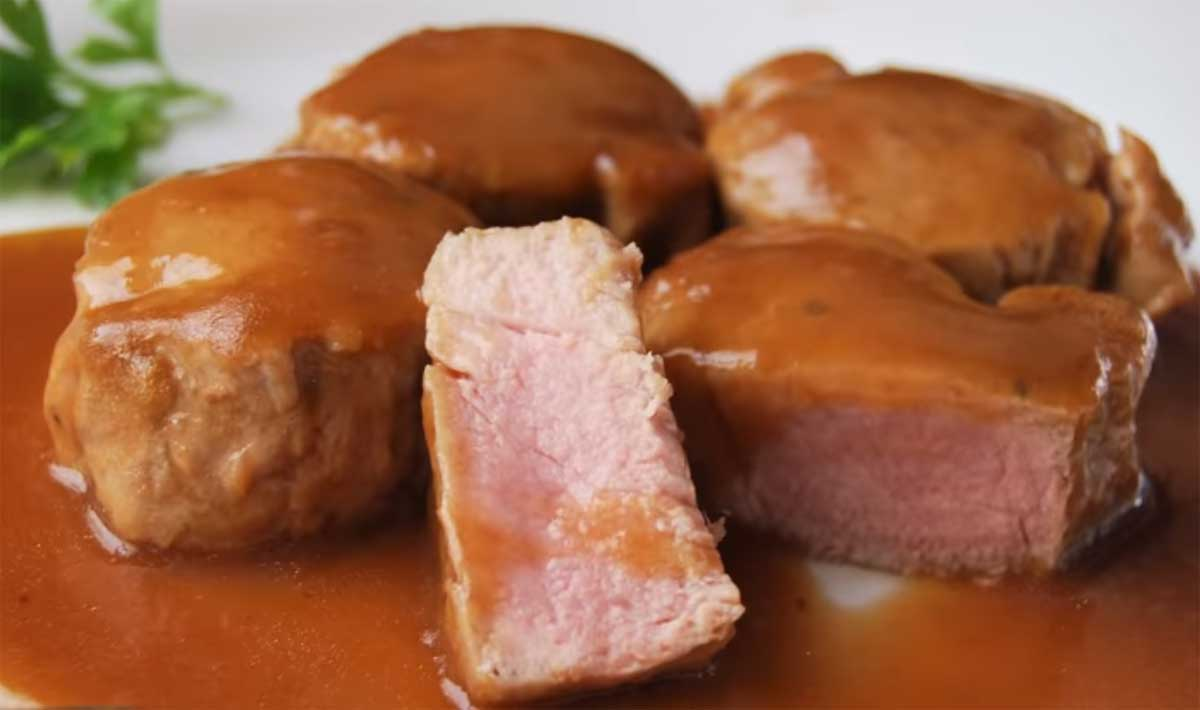 Solomillo de cerdo al pedro ximenez