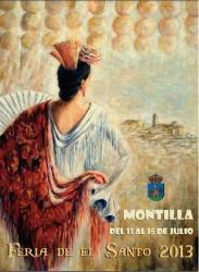 Cartel de la feria de el santo 2013 (Montilla)