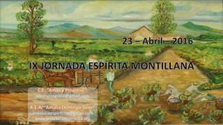 IX Jornada Espirita Montillana