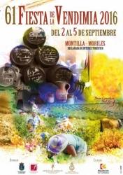 61 Fiesta de la Vendimia 2016 en Montilla