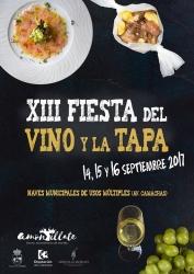 Te esperamos en la XIII Fiesta del Vino y la Tapa de Montilla