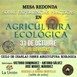 Mesa redonda sobre experiencias prácticas en Agricultura Ecológica