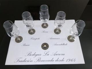 Cata Vertical de vinos en la Universidad de Córdoba