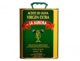 Aceite de Oliva Virgen Extra La Aurora Lata 3L