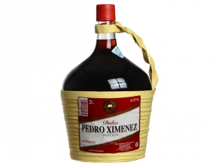 Dulce Pedro Ximénez garrafa 2 litros cristal