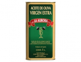 Aceite de Oliva Virgen Extra La Aurora Lata 1L