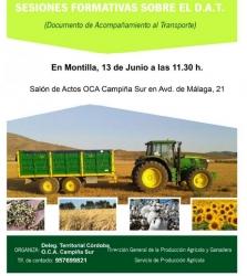 Presentación del REAFA y DAT en Montilla