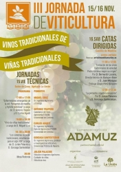III Jornada de Viticultura, vinos tradicionales de viñas tradicionales