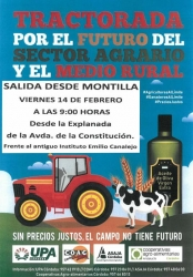 Tractorada por el fututo del sector agrario y el medio rural