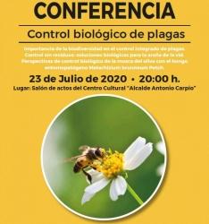 Conferencia sobre el control biológico de plagas
