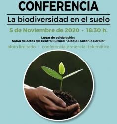 Conferencia: La biodiversidad en el suelo