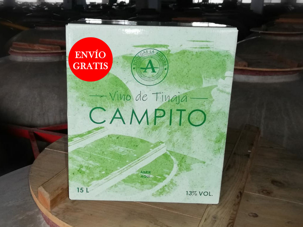 Vino de Tinaja Campito Cosecha 2020 (Bag in box)