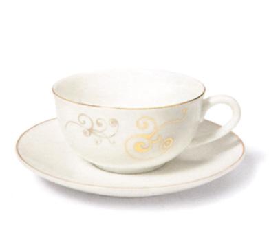 Taza de té con plato AÍDA