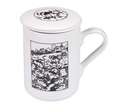 Mug con filtro VACAS