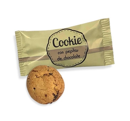Galletas mini Cookies individuales