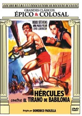 Hércules contra los tiranos de Babilonia [DVD]