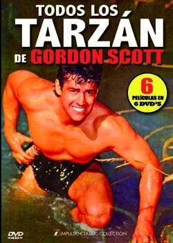 Todos los Tarzán de Gordon Scott [6 DVD]