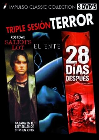 TRIPLE SESIÓN TERROR  (3 DVD'S)