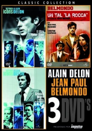 TRIPLE PACK DELON/BELMONDO (3 DVD'S)