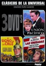 PACK TRIPLE CLÁSICOS DE LA UNIVERSAL (3 DVD'S)