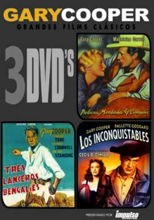 PACK TRIPLE DE GARY COOPER (3 DVD'S)