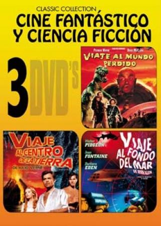 TRIPLE PACK CINE FANTÁSTICO Y CIENCIA FICCIÓN (3 DVD'S)
