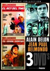 TRIPLE PACK DELON/BELMONDO (3 DVD'S)