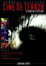 PACK CINE DE TERROR CIENCIA FICCIÓN (3 DVD'S)