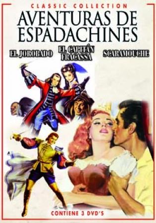 TRIPLE PACK AVENTURAS DE ESPADACHINES (3 DVD'S)