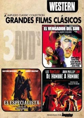 TRIPLE PACK WESTERN (3 DVD'S)